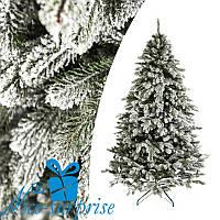 Искусственная новогодняя литая ель КОВАЛЕВСКАЯ ЗАСНЕЖЕННАЯ 185 см, фото 1