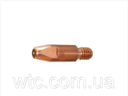 """Контактний накінечник M 8-1.6 (1/16 """") L = 30mm CuCrZr/Contact tip M 8-1.6 (1/16"""") L=30mm CuCrZr"""