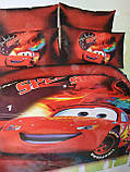 Комплект постельного белья детский  Спайдермен на красном полуторный размер Байка ( Фланель), фото 6