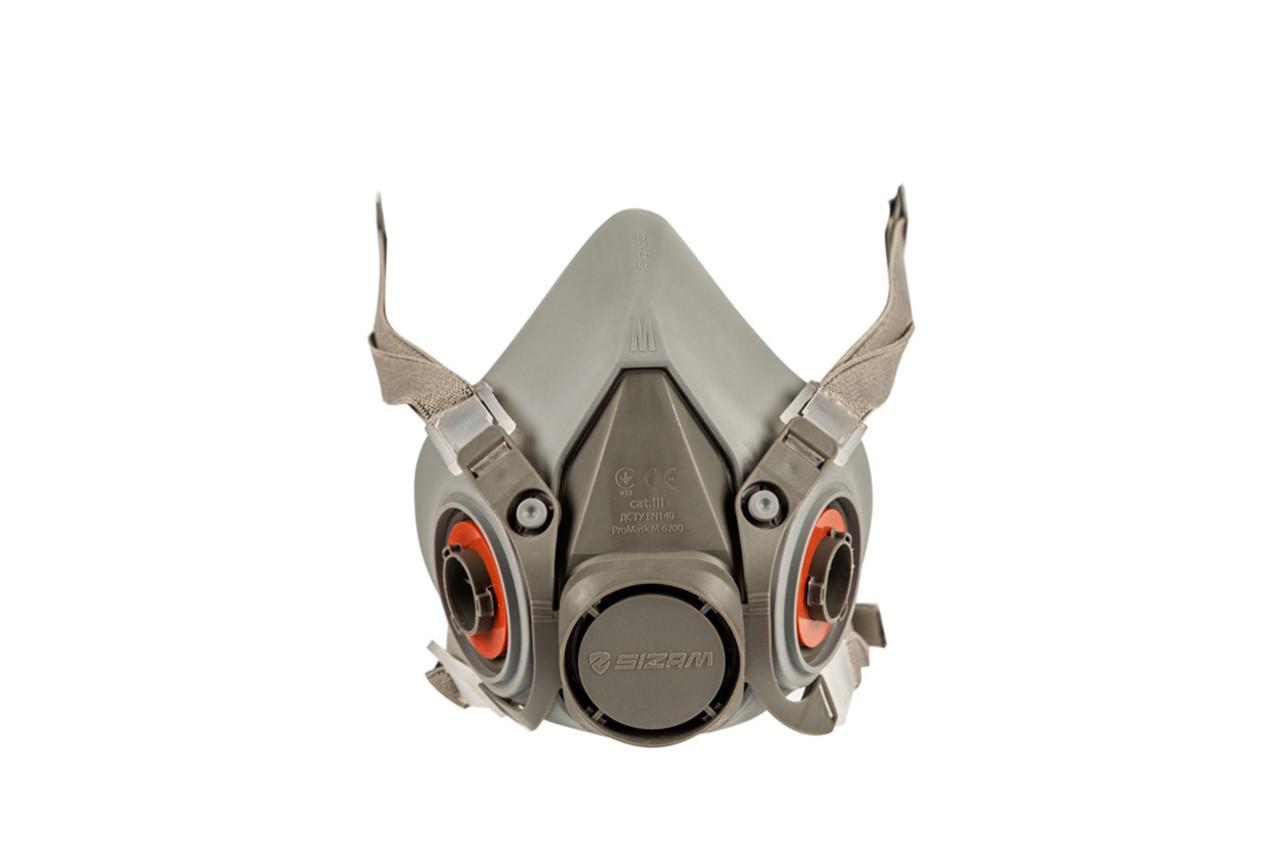 Купить Медицинские маски и респираторы, Полумаска с креплением в 4-х точках PROMASK M 6200 (Sizam 35024)