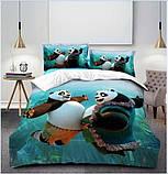 Комплект постельного белья детский Спайдермен полуторный размер Байка ( Фланель), фото 8