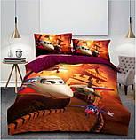 Комплект постельного белья детский Гадкий я Миньоны  полуторный размер Байка ( Фланель), фото 4