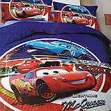 Комплект постельного белья детский Супермен полуторный размер Байка ( Фланель), фото 5