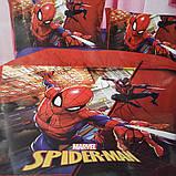 Комплект постельного белья детский Супермен полуторный размер Байка ( Фланель), фото 10