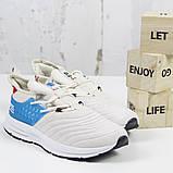 Жіночі спортивні кросівки, бежеві BS-X L1562-25.Повсякденні кросівки, текстиль 36-41 р. Жіноче взуття, фото 2