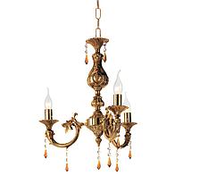 Античная итальянская люстра Ondaluce531 Lp 3 (3 лампы, Italy)
