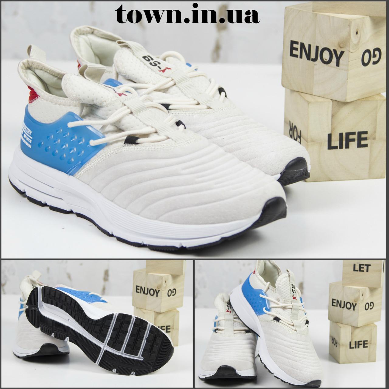 Жіночі спортивні кросівки, бежеві BS-X L1562-25.Повсякденні кросівки, текстиль 36-41 р. Жіноче взуття