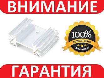 Алюминиевый мини радиатор 34х12х25мм