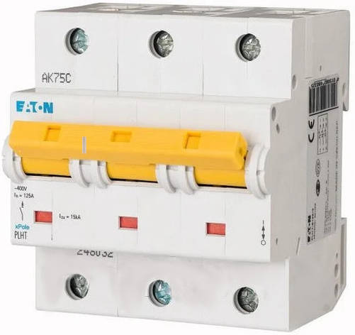 Автоматичний вимикач Eaton PLHT-C125 / 3, фото 2