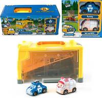 Игровой набор POLI SCHOOL BUS, материал пластик. Упаковка : коробка.