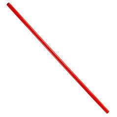Палка гимнастическая тренировочная красная 1.5м (штанга)