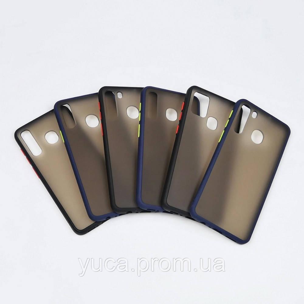 Чехол Totu Gingle series для Samsung A217 A21S (2020) чёрный