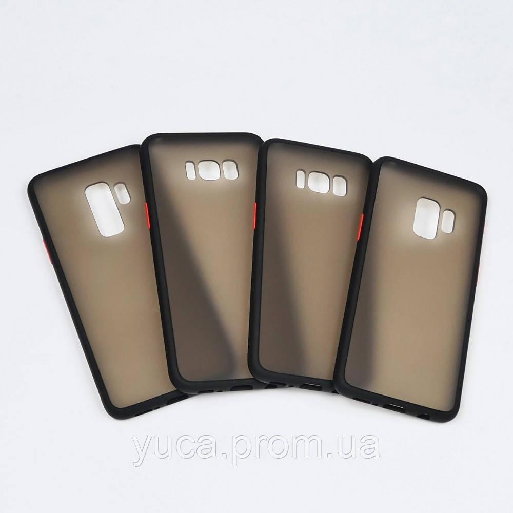 Чехол Totu Gingle series для Samsung G950 S8 чёрный