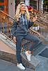 Серый спортивный Костюм на флисе, фото 2