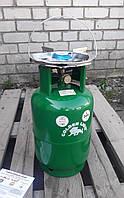 Туристический газовый баллон-пикник Rudyy VIP усиленный с горелкой на 12 литров кран - Италия