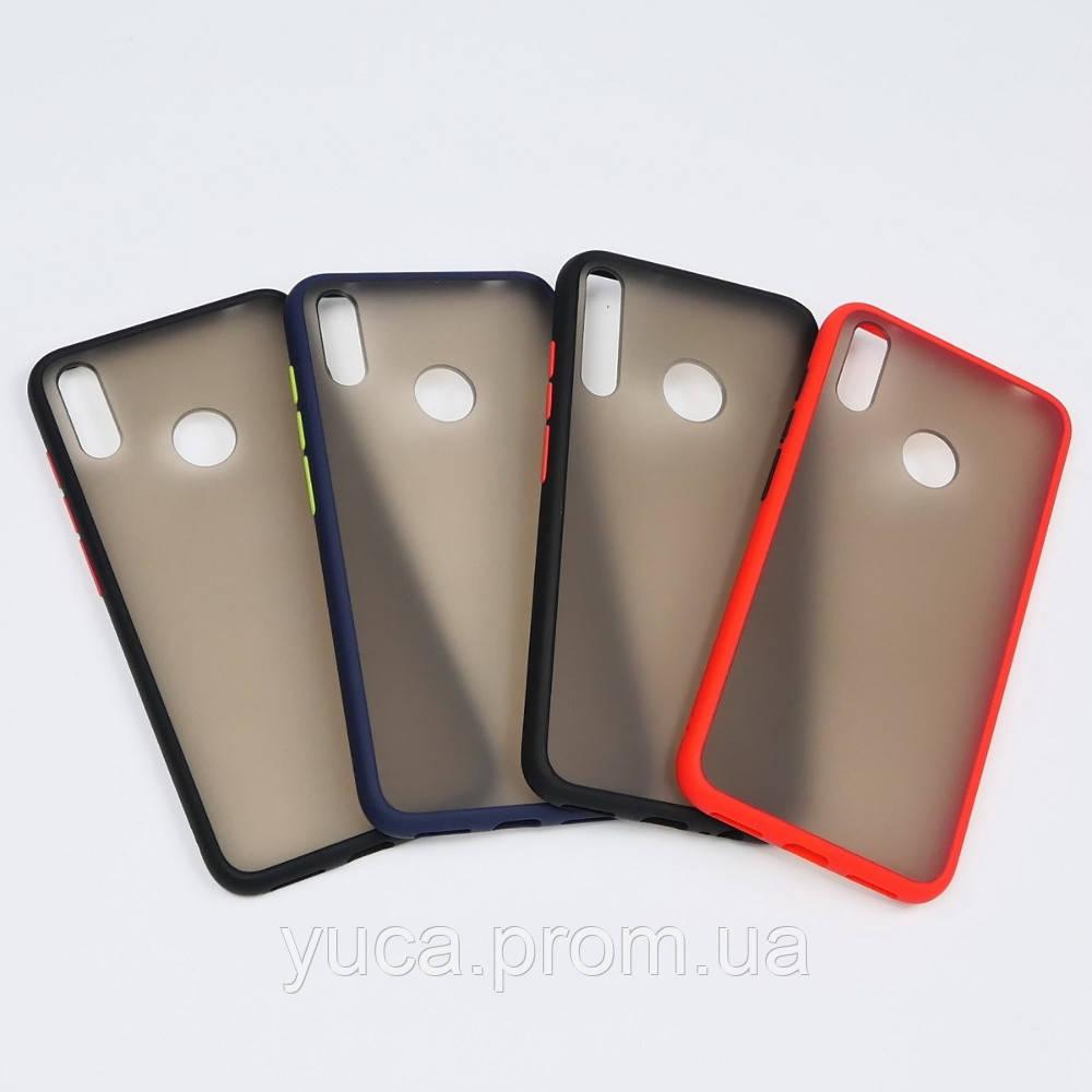 Чехол Totu Gingle series для Huawei Y7 2019/ Y7 Prime 2019 синий