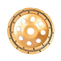 Фреза торцевая шлифовальная алмазная 115x22.2мм INTERTOOL CT-6115