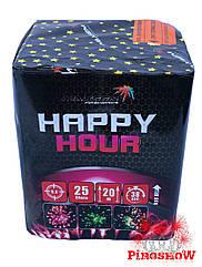 Фейерверк HAPPY HOUR 25 выстрелов 20 калибр | Салют GP467/2 Maxsem