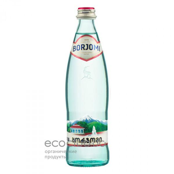 Минеральная вода Боржоми сильногазированная 0.5л