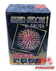 Салютная установка SILVER STROBE 16 выстрелов 25 калибр | Фейерверк GP500 Maxsem