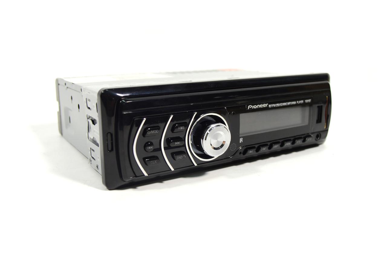 Pioneer 1581BT з Bluetooth Usb+підсвітка RGB+Fm+Aux+ пульт (4x50W)+ПОДАРУНОК!