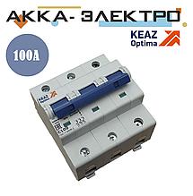 Выключатель автоматический модульный OptiDin BM125-3C100-8ln-УХЛ3