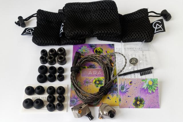 Картинка - кемпфайр Ara (АРА) наушники затычки - что в комплекте