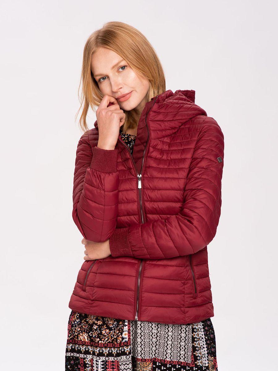 Красная демисезонная женская куртка Volcano J-Uma L06118-406