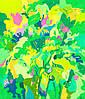 Тадеуш Жаховский  «На Лугу (2) / In The Meadow (2) «60 см х 51 см — Картина пастелью в подарок