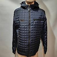 Куртка мужская осенняя, р. 50,52,56 демисезонная куртка темно синяя