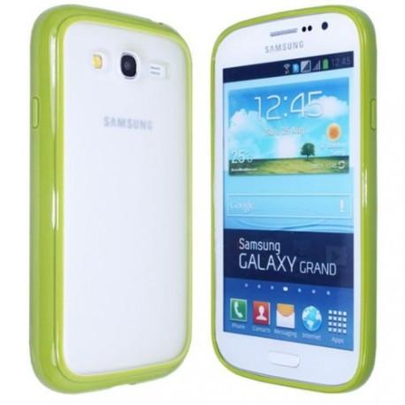 Чехол TPU Накладка для Samsung Grand dous i9082 Светло-зеленый