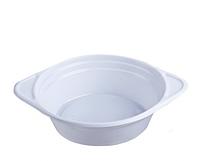 Тарелка глубокая суповая одноразовая 500мл белая 100шт Укр.