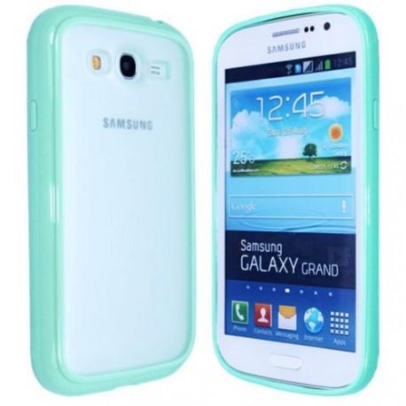 Чехол TPU Накладка для Samsung Grand dous i9082 Зеленый