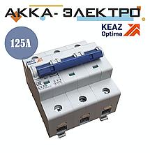 Вимикач автоматичний модульний OptiDin BM125-3C125-8ln-УХЛ3
