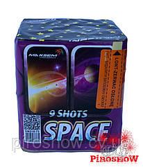 Салютная установка SPACE 9 выстрелов/25 калибр