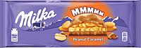 Шоколад Milka з арахісом і карамеллю 276 г