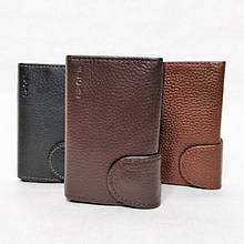 Картхолдер мужской BUONO Leather коричневый