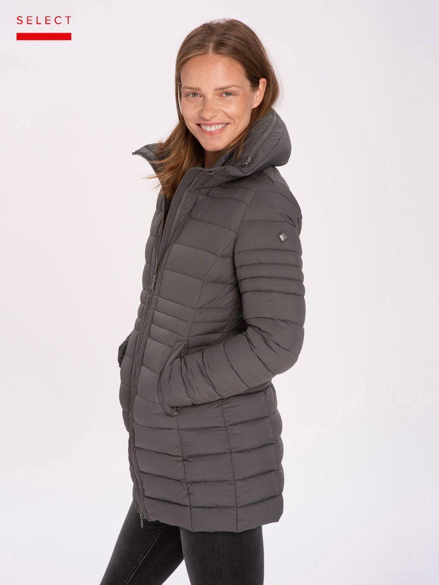 Демисезонная женская куртка пальто Volcano J-Corila L22035-717