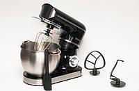 Кухонный комбайн тестомес Royalty Line RL-PKM-2200.472.9 2200 Вт Black, фото 1