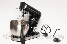 Кухонный комбайн тестомес Royalty Line RL-PKM-2200.472.9 2200 Вт Black