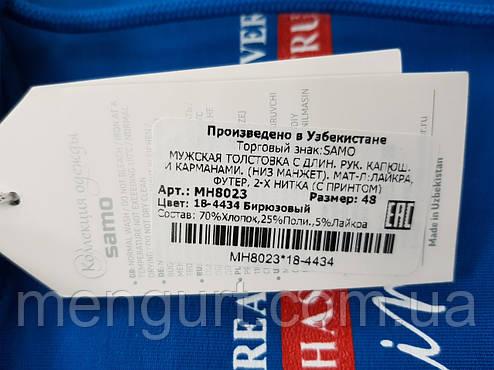 Мужская олимпийка с капюшоном и карманами  в Хмельницком, фото 2