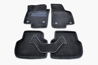 Коврики в салон 3D для Volkswagen Jetta 2011- /Черные 5шт 83713