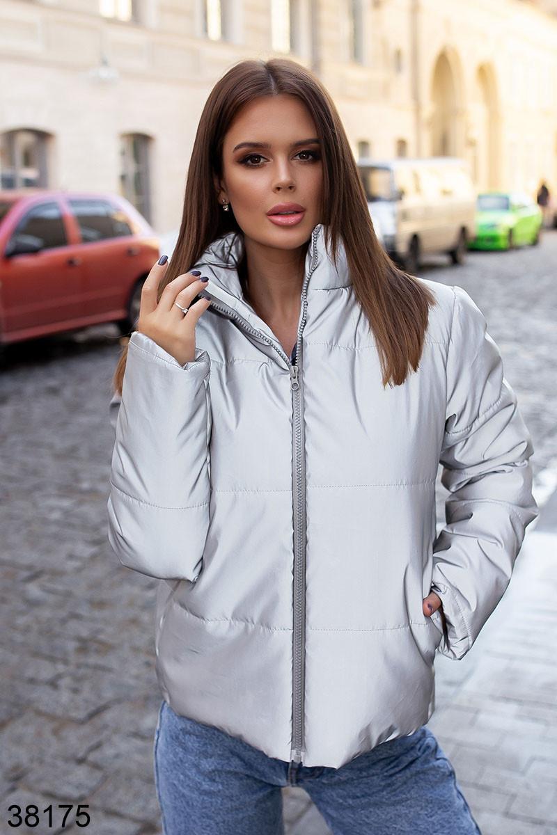 Теплая женская куртка из  плащевки Moncler 42 44 46