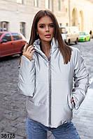 Теплая женская куртка из  плащевки Moncler 42 44 46, фото 1