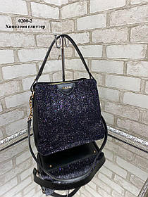 Стильная женская сумка на коротком и длинном ремешке