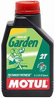 Масло для 2т двигателей садовой техники MOTUL GARDEN 2T (1L)