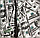 """Постельное белье двуспальное евро 200х220 (6466) """"Ранфорс"""" хлопок 100%, фото 6"""