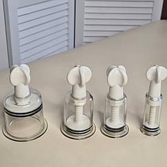 Ротаторные массажные банки с вентилем ротационные Yifang cuper