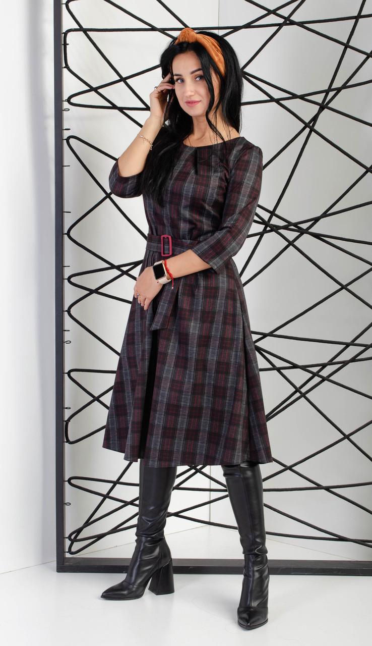 Платье женское с трикотажного полотна Алекс