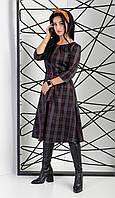 Платье женское с трикотажного полотна Алекс, фото 1